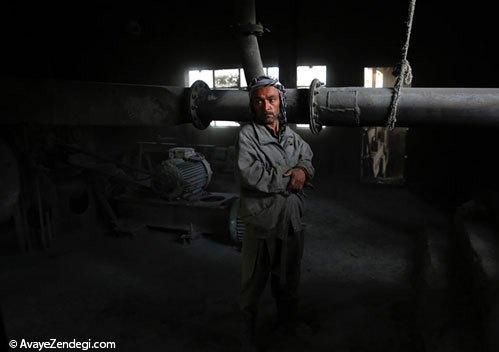 اولین کارخانه سیمان افغانستان
