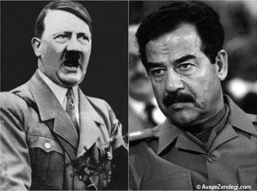صدام پسر هیتلر بود!