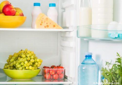 یخچال شما می تواند به تغذیه سالم شما كمك كند!
