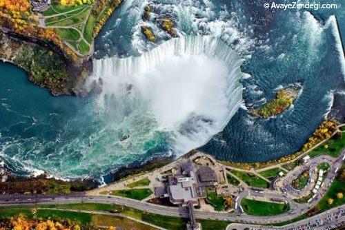 تصاویر شگفت انگیز نمایش هوایی مکان های معروف جهان