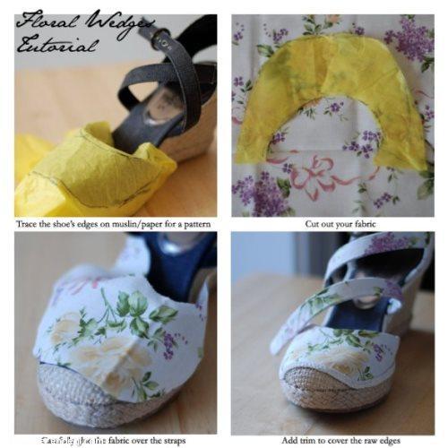 8 مدل جالب برای زیبا کردن کفش
