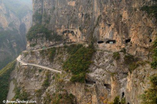 خطرناک ترین جاده های جهان
