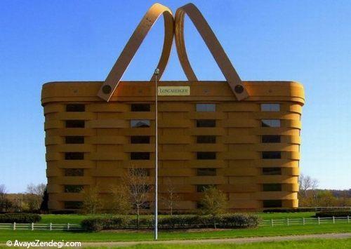 10 ساختمان عجیب مربوط به شرکت های تولیدی بزرگ
