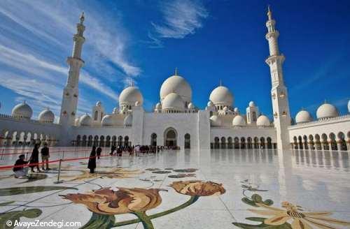 مسجد جامع شیخ زاید ابوظبی