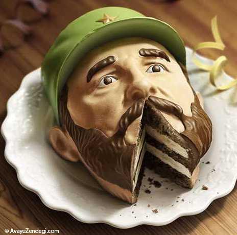 تصاویری از کیک های فوق العاده و منحصر به فرد