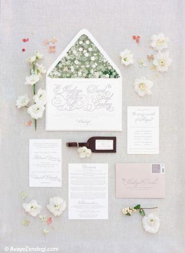 17 ایده جالب کارت دعوت عروسی
