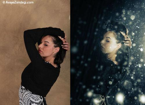 ایجاد تصاویر خلاقانه با جادوی فتوشاپ!