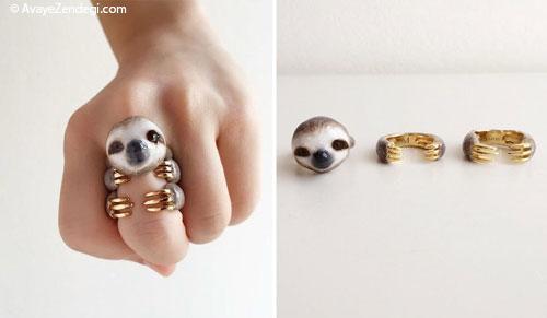 انگشترهای به شکل حیوانات که انگشت های شما را جذاب تر می کنند!