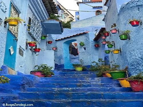 یک سفر رنگارنگ به مراکش با آیفون7 پلاس