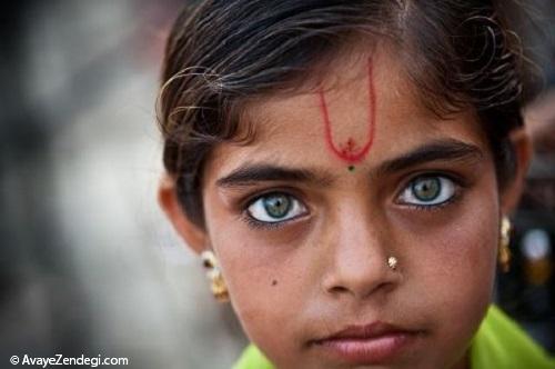 8 تصویر از چشم هایی که ما را می تواند در خود گم کند!