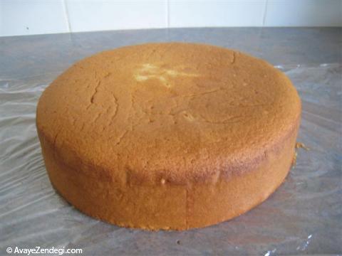 کیک بدون فر، روی اجاق