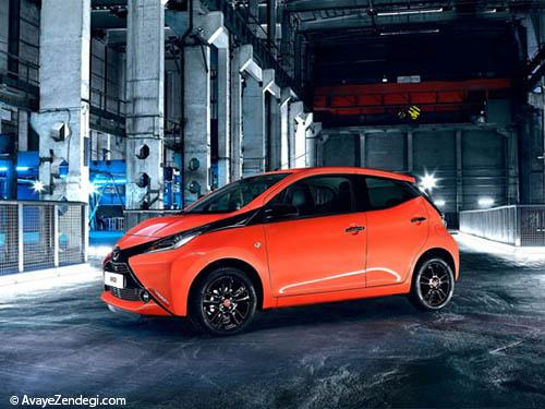مدل جدید خودروی تویوتا آیگو