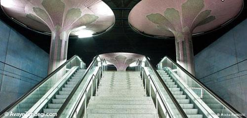 زیباترین و مدرنترین متروهای جهان